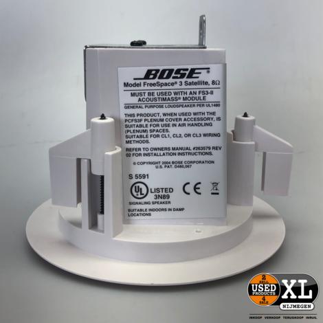 Bose Freespace 3 Series 2 Satelite Set van 2 | Nette Staat