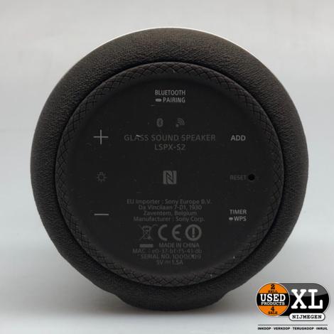 Sony LSPX-S2 360 Glass Speaker Bluetooth | Nieuw