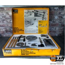 Draaibank Boormachine Adapter  Set AEG | Nette Staat