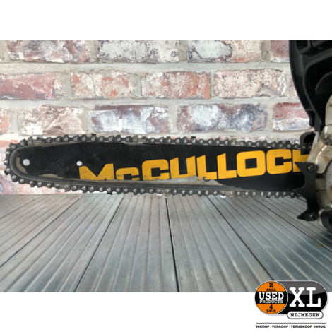 McCulloch CS35S Benzine Kettingzaag   Nette Staat