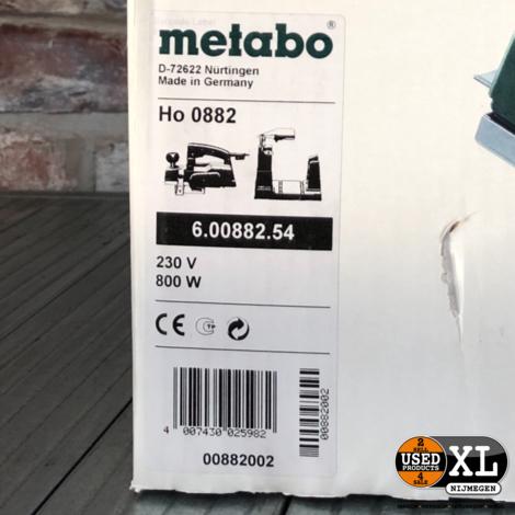 Metabo HO 0882 Schaafmachine | Nieuw in Doos