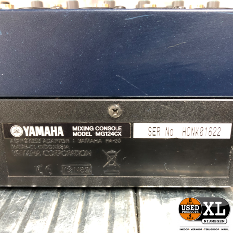 Yamaha MG124CX Mengpaneel   incl Garantie