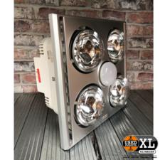 Celik Int. Trading Heater, fan & light 3-in-1 | Nieuw