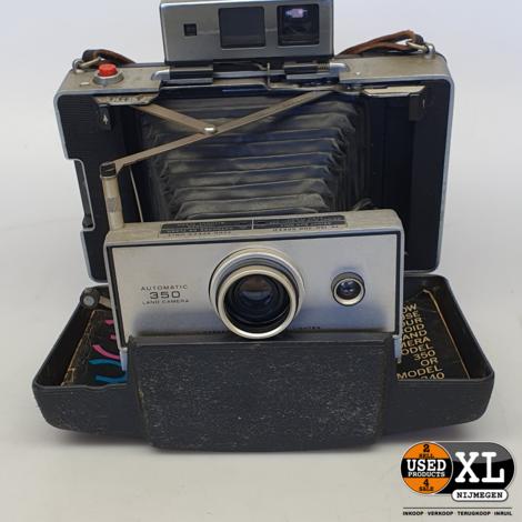 Polaroid 350 Land Camera   Nette Staat