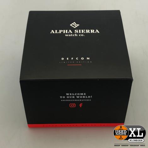 Alpha Sierra Defcon Herenhorloge | Nieuw in Doos