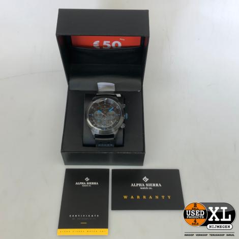 Alpha Sierra Defcon Horloge |  Nieuw in Doos