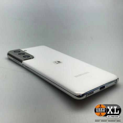 Samsung S21 5G 128GB White | ZGAN