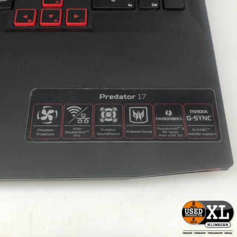 Acer Predator G9-791 753B Gaming Laptop | Nette Staat