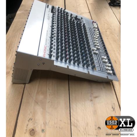 Phonic Helix Board 24 Firewire MK2 Mixer I ZGAN