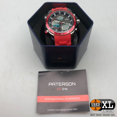 Paterson Chronograph 2986   Nette Staat