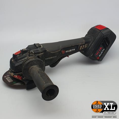 Wurth AWS 18-125 P Compact Haakse Slijper   incl Garantie