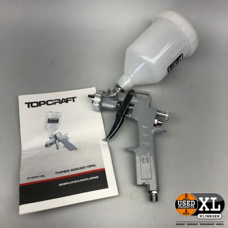 Topcraft Pneumatisch Verfpistool   Nieuw in Doos