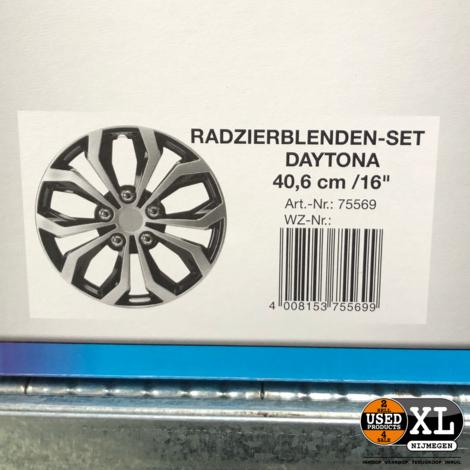 Cartrend Wieldoppenset Daytona 16 inch | NIeuw in Doos