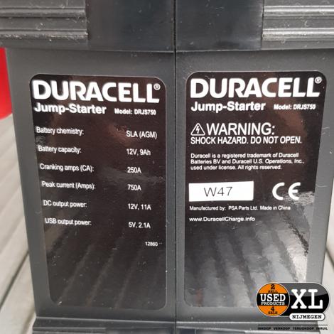 Duracell Jumpstarter DRJS 750 Acculader | Nieuw