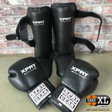 Xpert Kickbox Handschoenen + Scheenbeschermers | Nette Staat