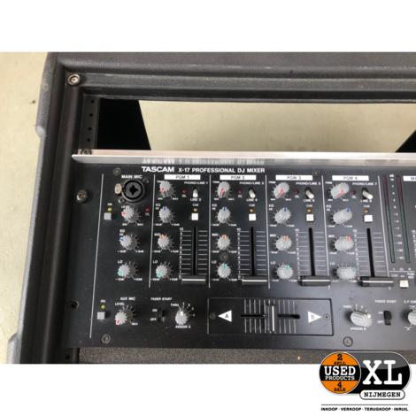 Tascam X17 DJ Mixer Mengpaneel   Nette Staat