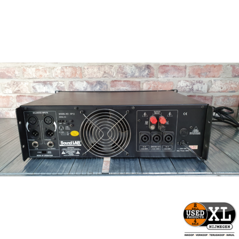 Soundlab SP12 2 Channel Power Amplifier | met Garantie