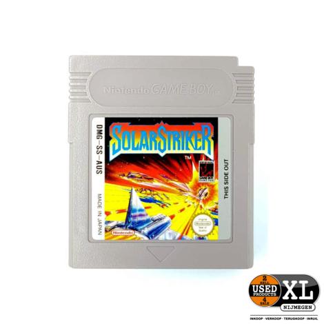 Solar Striker Nintendo Gameboy Game | met Garantie