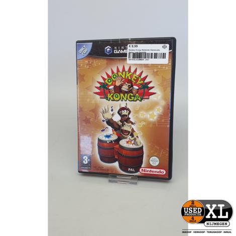 Donkey Konga Nintendo Gamecube Game   met Garantie