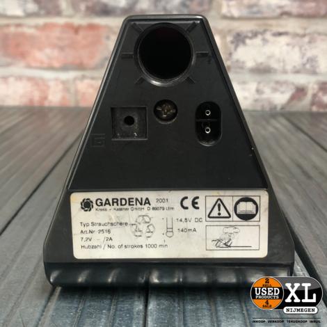Gardena ST6 Buxusschaar Accu | Nette Staat