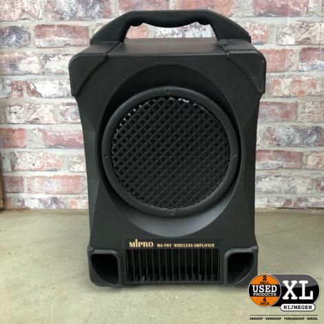 Mipro Ma-707 Speaker incl Draadloze Microfoons | Nette Staat