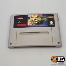 The Incredible Hulk Super Nintendo Game | met Garantie