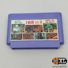 Multi-game 168 in 1 Super Nintendo Game | met Garantie
