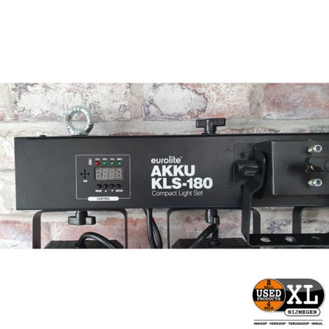Eurolite AKKU KLS-180   Nieuw in Tas