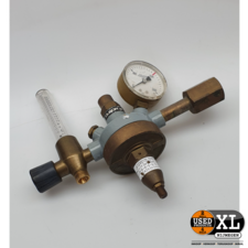 Reduceerventiel Gloor Flowventiel Koolzuur 0-32 l/min GL51