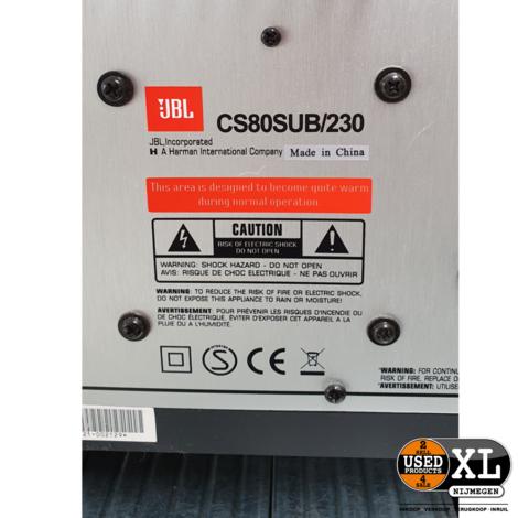 JBL 2.1 Audio Set CS80SUB/230   met Garantie