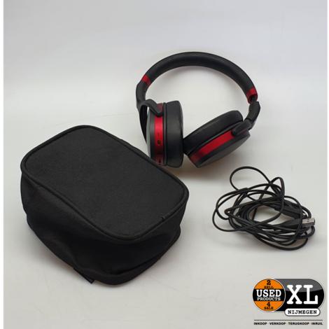 Sennheiser HD 458BT Koptelefoon Rood/Zwart   met Garantie