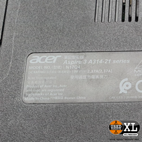 Acer Aspire 3 A314-21-402J   Nette Staat