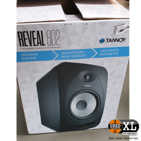 Tannoy Reveal 802 Studio Monitors