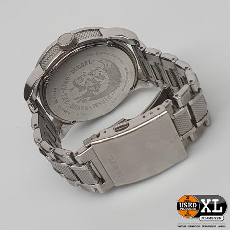 Diesel DZ1370 Zilveren Horloge   met Garantie