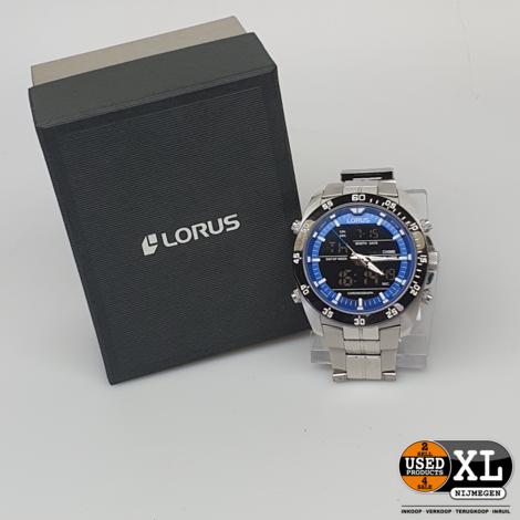 Lorus Z021-X006 Zilveren Metalen Horloge | met Garantie