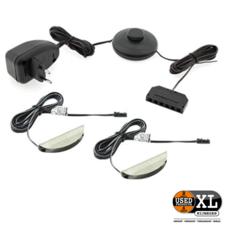 LED glasplaatverlichting 4 Set | Nieuw in Doos
