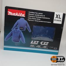 Makita DFJ304ZXL Geventileerde Jas | Nieuw in Doos