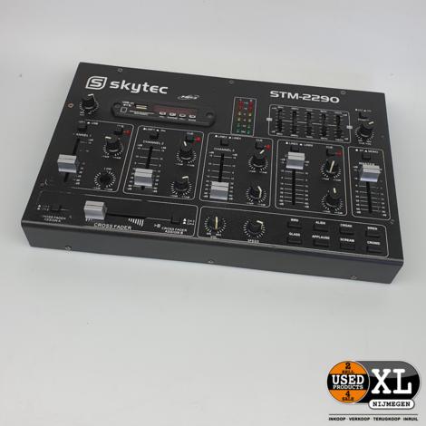 Skytec STM-2290 DJ-mixer | met garantie