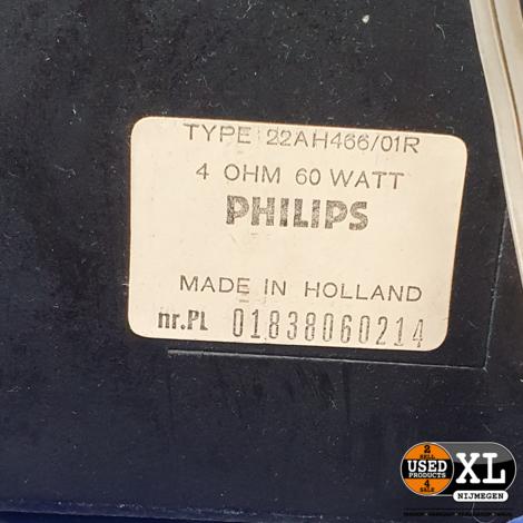 Philips Speakers 22AH466/01R   Vintage