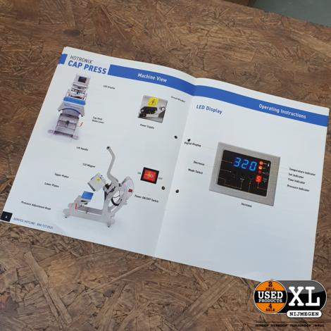 Hotronix Auto Open CAP PRESS STXC | ZGAN