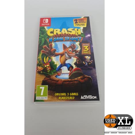 Nintendo Switch Crash Bandicoot N Sane Trilogy Game | ZGAN