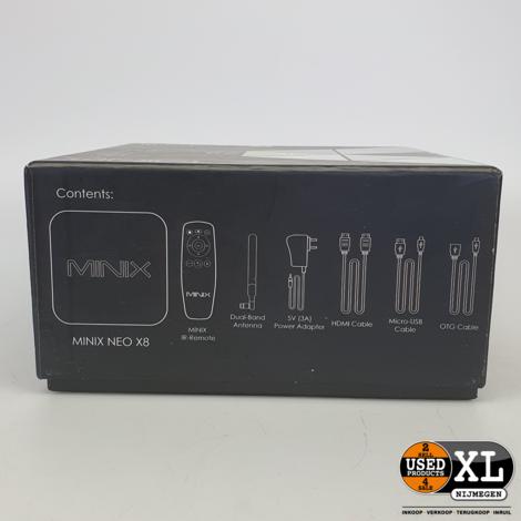 Minix NEO X8 4K | Nette Staat