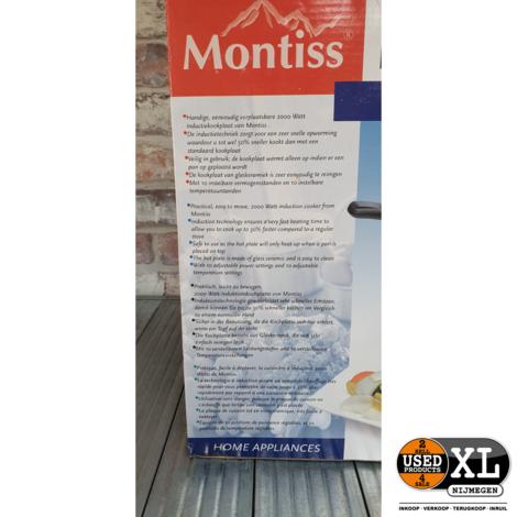 Montiss KIC5805M Inductie Kookplaat   NIeuw in Doos