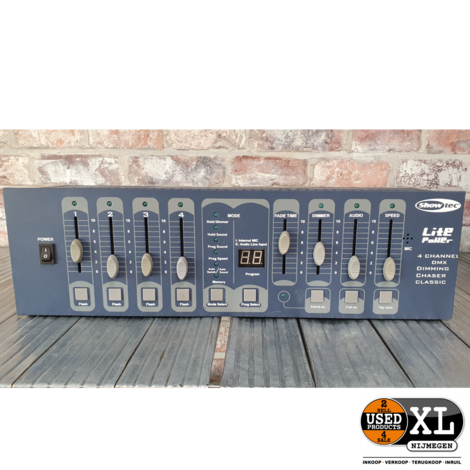 Showtec Lite Power 4 channel DMX | incl Garantie