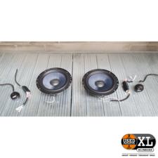 Gladen Alpha 165-G2 Autospeakers   met Garantie