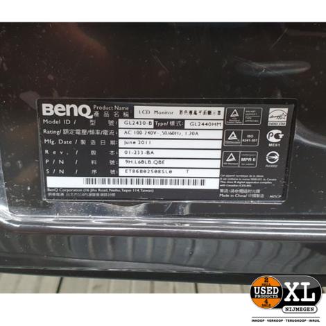 Benq GL2430-B HDMI Monitor   met Garantie