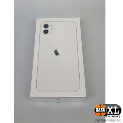 IPhone 11 64 GB Wit   Nieuw in Seal  Nieuw in Doos