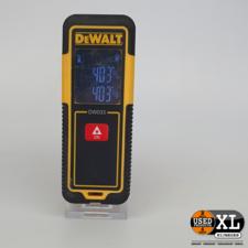 Dewalt DW033 Laser Afstandsmeter   Nette Staat
