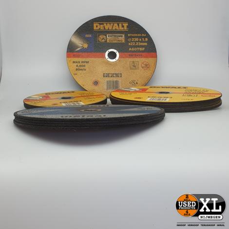 DeWalt /Beul Doorslijpschijven 15 stuks