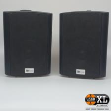 RH Powerdynamics BGB50 Actieve Luidsprekers   Nette Staat